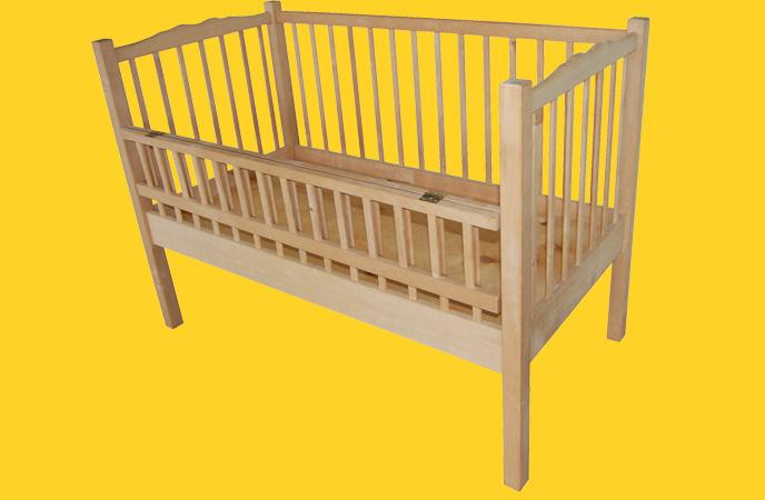 Кроватка для новорожденного из дерева своими руками