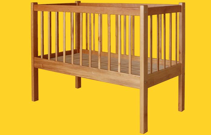 Описание: как пошить защиту на детскую кроватку.