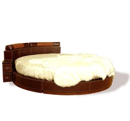 Кровать интерьерная Омега Фотография. кровать : круглые кровати, цены.
