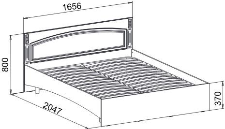 Кровать ЭМ-14